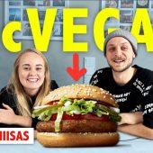 Youtube: Testissä Mäkkärin vegaaniburgeri (ft. Mmiisas)